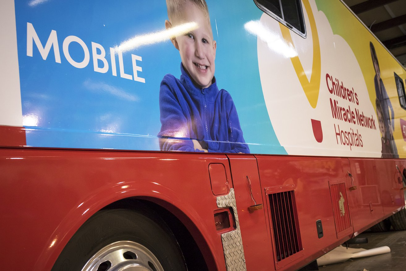 CoxHealth's C.A.R.E. Mobile has gotten a new wrap.